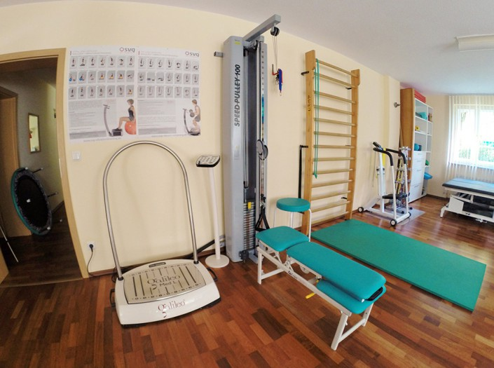 Seidler Physiotherapie Turnraum