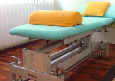 Seidler Physiotherapie - Behandlungsliege